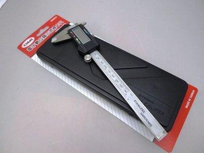 附發票*東北五金*正GMI高品質 電子式游標卡尺 6吋 電子卡尺 專利型設計 滑動自動開機 品質保證!