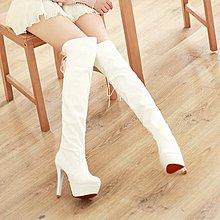 【明良精品】TSM-999*【SHOW-GIRL】高跟過膝長筒靴鞋/鞋碼34~39碼=1265元