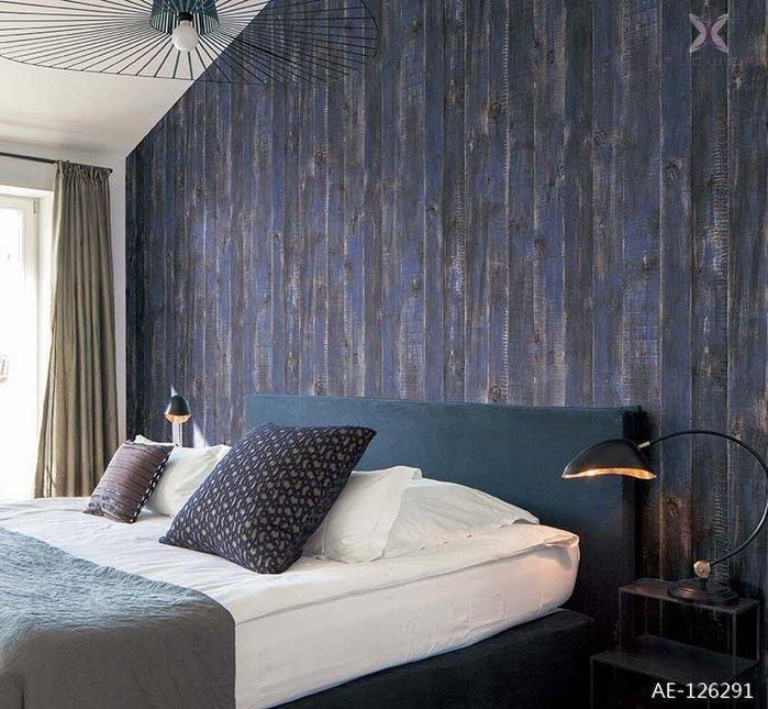 【夏法羅 窗藝】日本進口 做舊木紋  法式 鄉村風 工業風 仿真仿建材壁紙AE-126291