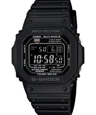 【CASIO電波錶】GW-M5610BC-1  強悍血統 光動能 智慧電波分秒不差 塑鋼.另GA-110 GW-5510