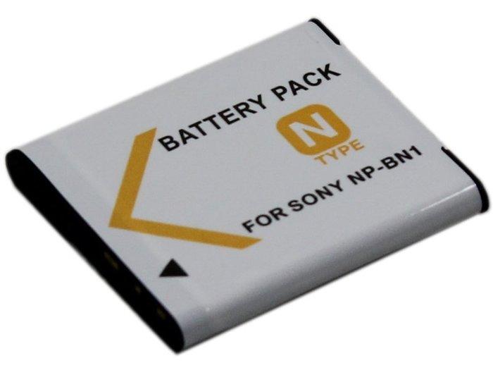 《阿玲》 SONY 索尼 NP-BN1 DSC-KW11 香水機 W370 W810 BN1 電池 +充電器