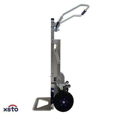 搬家業,家電業的必備幫手(會爬樓梯的手推車)載貨用載物爬樓梯機//輔助搬運爬梯車(170E苦力機)+平地助力輔助輪組