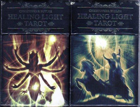 [牌的世界]療癒之光塔羅牌 HEALING LIGHT TAROT(78張)多語言手冊(含中文)