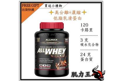 Allmax 金牌 分離低脂乳清蛋白 5磅(送小禮物)