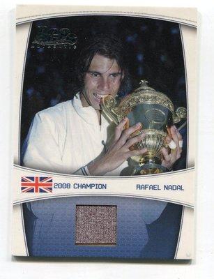 (記得小舖)Rafael Nadal 2008 美國公開賽 實戰球衣卡 限量59張 台灣現貨 非常稀少值得收藏