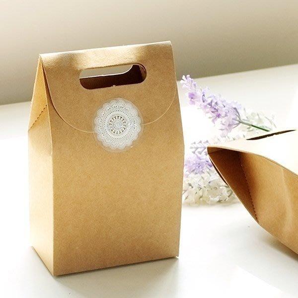 立體牛皮紙手提禮物包裝袋【JC1822】《Jami Honey》