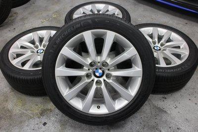 蓋世輪 BMW F10 原廠18吋鋁圈輪胎(二手)售28000