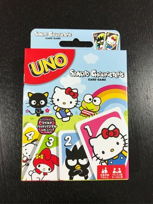 Sanrio Characters UNO 全新未開 現貨
