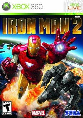【二手遊戲】XBOX360 鋼鐵人 2 Iron Man 2 英文版【台中恐龍電玩】