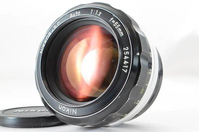 *JAZZ 棧 * 夜之眼Nikon NIKKOR S C Auto 55mm F1.2 (S.C版)