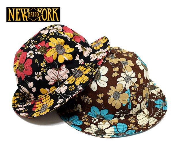 【現貨】全新正品 美國經典老牌 NEW YORK HAT Daisy Tennis 3090 花 漁夫帽 遮陽帽  黑色 咖啡色