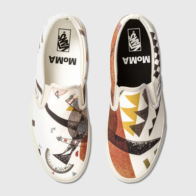 R代購 Vans MoMA 現代藝術博物館 Classic Slip-on 康丁斯基 Vasily Kandinsky