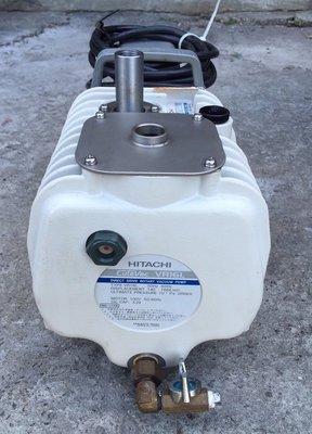 日本製HITACHI VR16L-K(0.5HP/110V)油式真空幫浦/真空機--抽冷媒、翻模、真空脫泡機可用