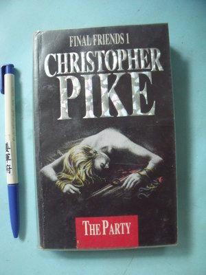 【姜軍府】《PIKE THE PART》原文小說!CHRISTOPHER FINAL FRIENDS 1