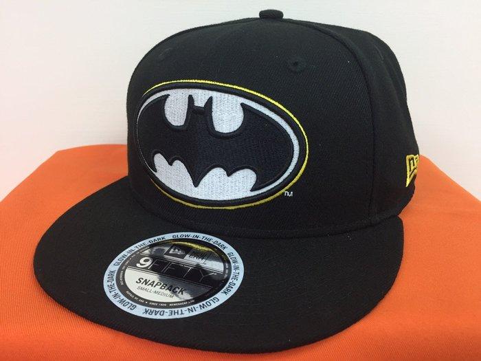 [阿菊潮流工作室] New Era Basic 9Fifty Batman Snapback Cap [免運費]