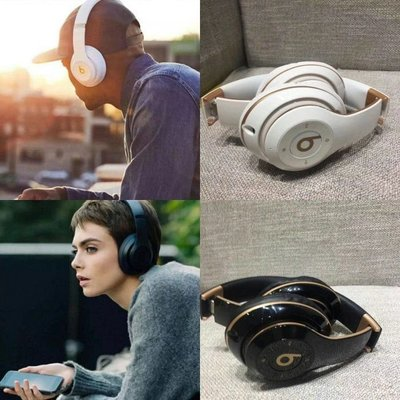 $579- household headphone headset Beats Studio 3 Wireless 黑色白色 頭戴式無線藍牙耳筒 耳機