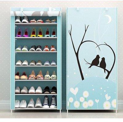 鞋架 多層鋼管特價組裝防塵家用省空間學生宿舍收納經濟型鞋櫃—莎芭