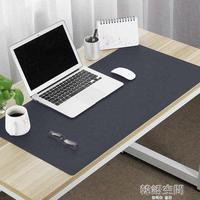 辦公桌墊  大號滑鼠墊防水寫字墊超大皮革滑鼠墊辦公電腦墊可訂製   YTL