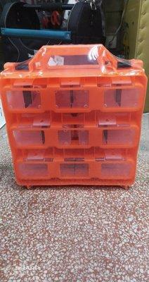 附發票*東北五金*高品質OPT 工具箱 收納盒 內附隔板/大中小三種規格 零件盒 手提工具盒! BOX-366
