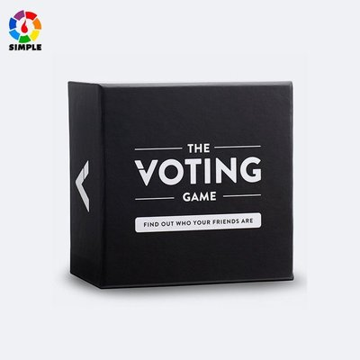 #現貨#秒出  英文版 THE VOTING GAME 投票遊戲 休閒棋牌 桌遊卡牌 紙牌玩具~DKP54392