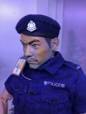 1/6 香港警察 機場特警 貝雷帽 BERET HOT TOYS BBI POLICE AIRPORT SECURITY MILITARY (PIU24)