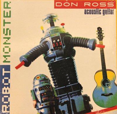 北投巴洛吉他學苑(晶濎音樂) Robot Monster Don Ross Marada 木吉他演奏CD