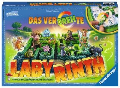 新款 德國 桌遊 Ravensburger  Labyrinth 百變迷宮 旋轉迷宮 桌上遊戲 兒童 ~ 玻璃珠遊戲屋
