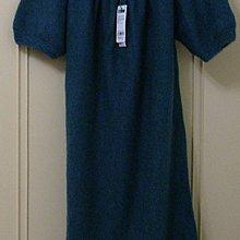 班尼頓 Benetton 藍色毛料洋裝~降價~