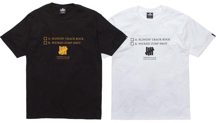 【超搶手】】全新正品 最新款 UNDEFEATED DONE CHANGED TEE 黑 白 灰 S M L XL 現貨