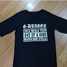 G Dragon one of a kind Tour應援衫