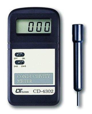 TECPEL 泰菱 》 LUTRON 路昌 CD-4302 迷你型電導度計 電導度 水質 PH mS