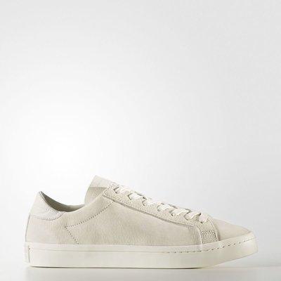 Adidas Court Vantage BZ0433 奶油 麂皮 皮革 復古 運動鞋