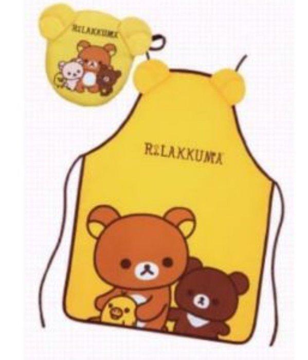 天使熊小鋪~7-11拉拉熊 蜂蜜森林新朋友 隔熱手套、圍裙組合  共有2款  全新現貨
