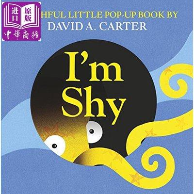 一只害羞的動物 I'm Shy (Pop Up Book) 精裝 立體玩具書 3-6歲 操作書 動物故事