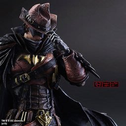 【南部總代理】Play Arts改 變體版 蝙蝠俠 狂野西部 普通版 DC Batman 超人 神力女超人 高仿 港版