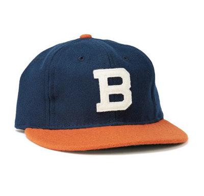 全新 現貨 Ebbets field flannels Brooklyn vintage 復古 羊毛 老帽 棒球帽 調節式