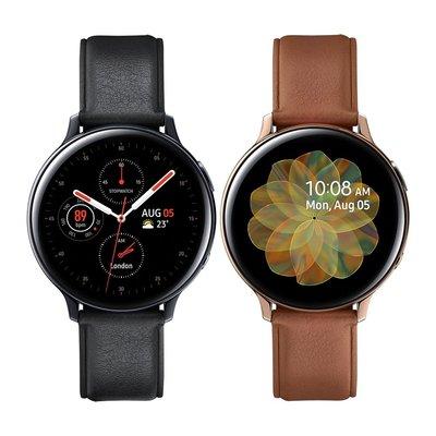預購 全新 三星 SAMSUNG Galaxy Watch Active2 不鏽鋼版 44mm R825 (藍牙)