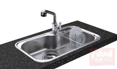 【路德廚衛】ENZIK sink韓國不鏽鋼水槽- JIS-840PL (左大) 吸音處理不鏽鋼水槽 歡迎來電詢問!!