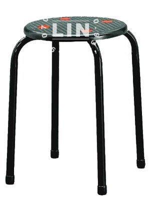 【品特優家具倉儲】065餐椅塑膠椅餐椅四點紅