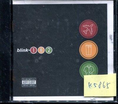 *真音樂* BLINK 182 / TAKE OFF 二手 K5865 (封面底破)  (清倉.下標賣1)