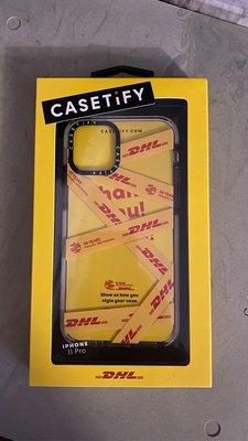二手美品 Casetify x DHL x FRAGILE 五十週年 聯名iPhone 11 Pro 防撞 防摔 保護殼