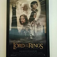 魔戒二部曲:雙城奇謀-The Lord of the Rings: The Two Towers (2002)原版電影海報  3D裱框