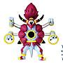寵物小精靈 神奇寶貝 TOMY日版大號MEGA可動MHP胡帕 光環的超魔神  神獸 解放型態