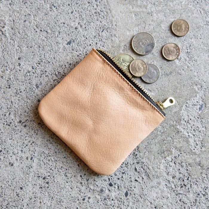 薄皮零錢包【五色可選:原味、芝麻、深藍、茶綠、孔雀綠】【LBT Pro】