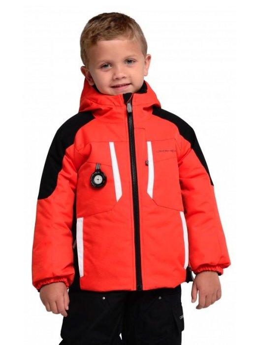 【荳荳物語】美國品牌obermeyer Horizon Jacket舖棉保暖男童滑雪衣,防水係數10k,3680元