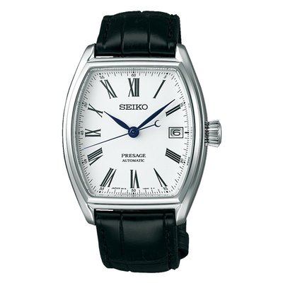 SEIKO精工 Presage Enamel 琺瑯機械錶(SPB049J1)-白/ 36mm 6R15-03T0S 新北市