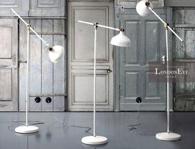 【LondonEYE】Sirras Vintage Lamp 工業風/LOFT長臂式烤漆純銅關節落地燈Arte《308》