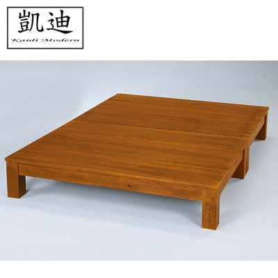 【凱迪家具】F16-179-13 克莉絲實木床底 5尺 /大雙北市區滿五千元免運費