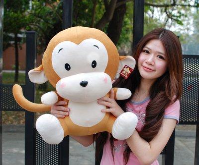 拉拉小站~可愛猴子娃娃~猴子玩偶~高40公分~最受歡迎玩偶