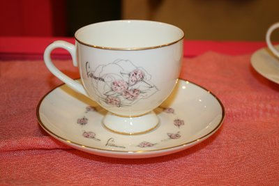 超浪漫 花邊咖啡杯